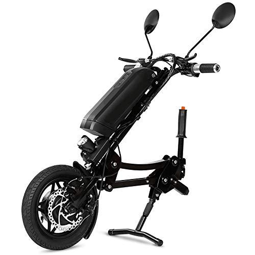 Lichte rolstoelsleepper, opvouwbare rolstoelen, in hoogte verstelbare booster met elektromagnetische rem voor sportrolstoelen, vouwrolstoelen