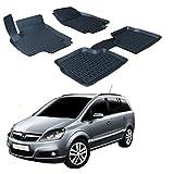 SCOUTT   3D Tapis DE Sol en Caoutchouc Premium Compatible avec Opel Zafira B 2006-2011 4 pièces