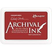 Archival Ink Pads Designer Series - Red Geranium