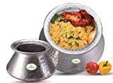 finaldeals New Aluminum Rice BIRYANI Pot 4 KG Capacity DEGDA DEAGE COOKWARE Chef Utensil