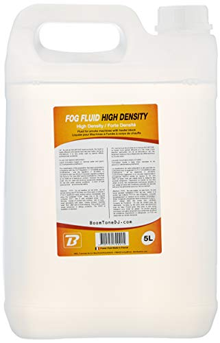 BoomToneDJ Fog Fluid High Density 5L Liquide pour Machine à fumée Transparent