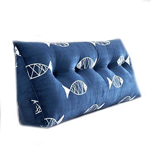 Kopfbrett Triangle Unterstützung Nacht Kissen Bett Rückenkissen Sofa weiche Matte Keil Taille Kissen Lesekopfkissen-Auflage, 8 Farben, 8 Größen Optional (Farbe: 5, Größe: 90 cm), Größe: 70cm, Farbe: 4