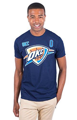 Russell Westbrook Oklahoma City Thunder Herren-T-Shirt, kurzärmelig, Größe XXL, Marineblau