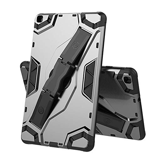 SDTEK Case Compatible with Samsung Galaxy Tab S6 Lite Strong Rugged Tablet Cover with Kickstand Handle (Grey)
