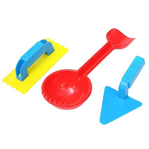 NBRR Schneeball-Spielzeuge, kleine Schneemann-Maker-Set, Winter-Outdoor-Schneeball-Kampf-Spiele und Schneeball-Spaß für Kinder und Kleinkinder