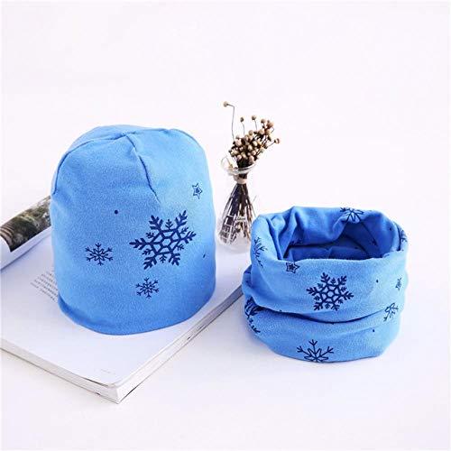 XCLWL sjaal voor warme sjaals, kraag voor mutsen, van katoen, voor kinderen