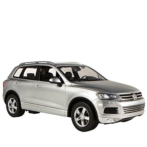 RC Auto kaufen Spielzeug Bild 4: Rastar Volkswagen Touareg, RC Auto, Maßstab 1: 14 grau*