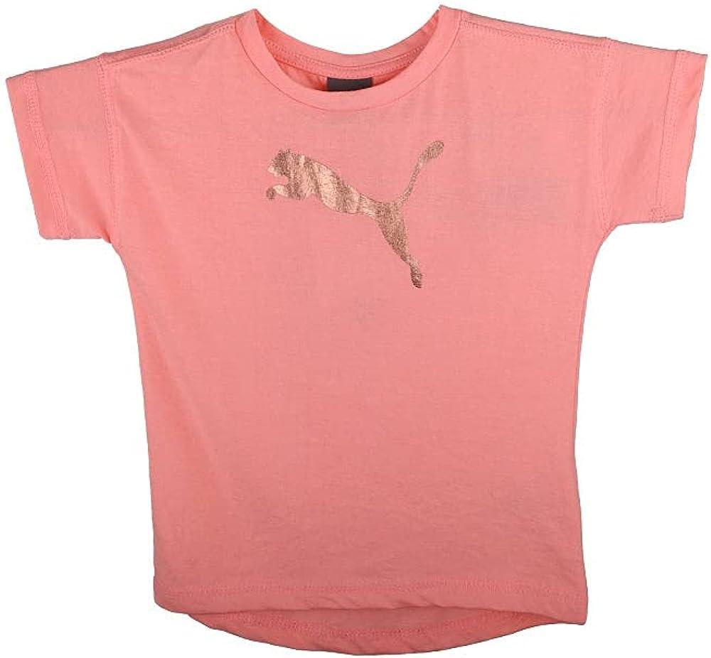 PUMA Toddler Girls Fashion T-Shirt Top Casual - Pink