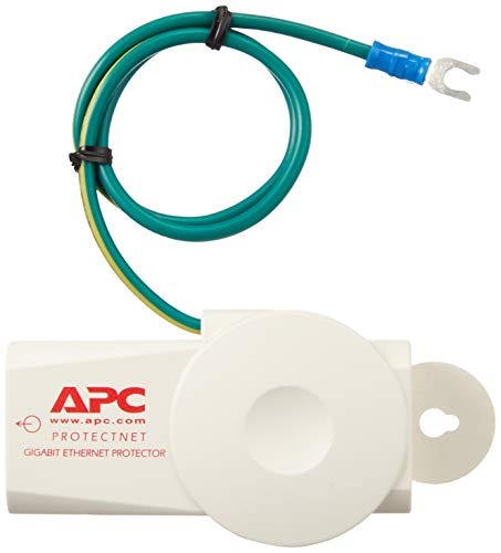 APC Surge Protector for Ethernet Data Port (10/100/1000 Base-T Ethernet lines), ProtectNet (PNET1GB)