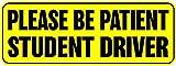 PIP AND CO Señal para Coche con Texto en inglés Student Driver de 8 Pulgadas