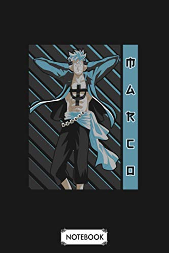 Marco One Piece Notebook: Journal, Planner, 6x9 120 Pages, Lined College Ruled Paper, Diary, Matte Finish Cover