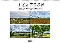 LAATZEN - Ortsteil der Region Hannover (Wandkalender 2022 DIN A2 quer): Ein fotografischer Streifzug durch Laatzen und Alt Laatzen (Monatskalender, 14 Seiten )