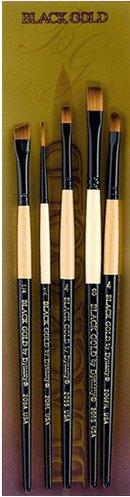 Black Gold by Dynasty - BG-6 Brush Set
