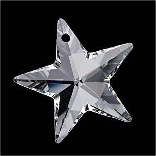 SWAROVSKI ELEMENTS Crystal #6714 Star Pendant Bead Crystal 40mm (1)