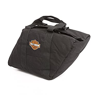 Harley Davidson Slant Saddlebag Liner, Black