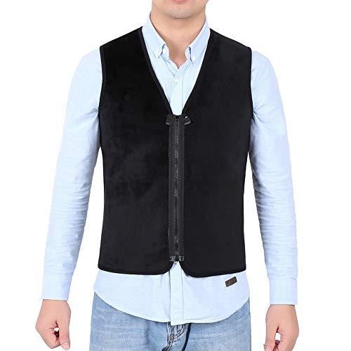 Jadeshay Heated Vest- USB Charge Verwarmd Warm Lichaam Ademend Vest Jas Lichtgewicht Warm Gilet Jas Verwarming Vest