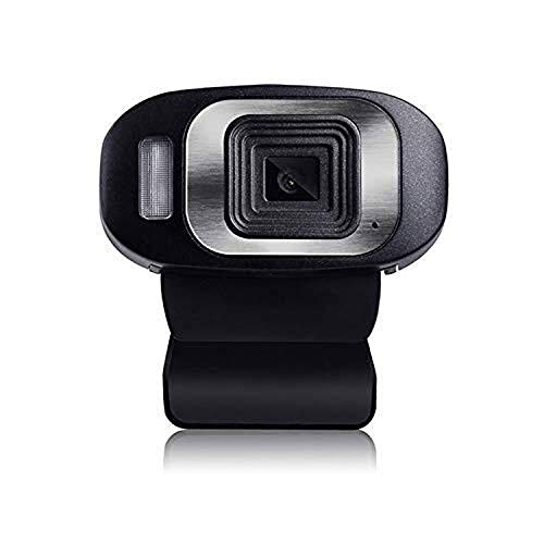 Faiol USB del ordenador de alta definición de vídeo Conferencia de webcam, ordenador portátil 1080P PC de aprendizaje de los estudiantes de clase en línea, Home Video Llamada Chat Webcam Conveniente f