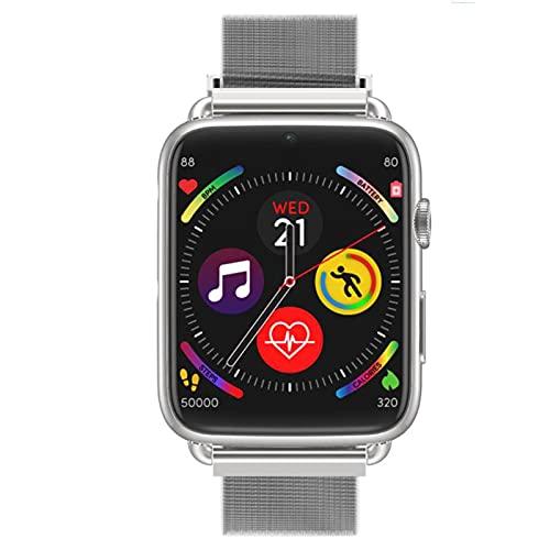 YHWD Reloj Inteligente 4G, Reloj Inteligente De Muñeca con Pantalla Táctil De 1,82 Pulgadas, 1 GB + 16 GB, Batería De 700 Mah, Resolución De 360 * 320 para Android 7.1