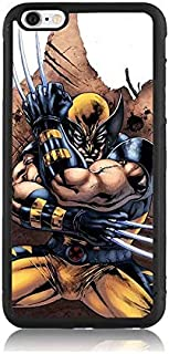 iPhone 6 / 6s Plus Case, Cartoon Wolverine Print Slim iPhone 6 Plus Covers Hard Shell Soft TPU & Hard Back Shockproof Hybrid Protective Covers for iPhone 6 / 6s Plus