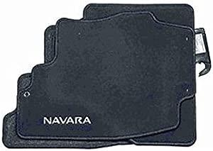 Nissan Genuine Navara D40 Tailored Front  amp  Rear Car Mats KE755EB412