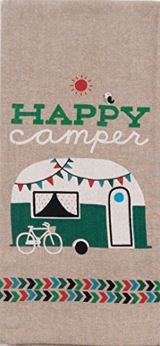 Product Image 2: 18th Street Gifts Happy Camper Dish Towels and Salt Pepper Set, 4 Piece Set of Camping Decor for RV