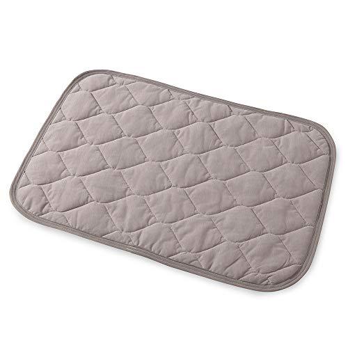 mofua cool 涼感 枕パッド(43×63cm) グレージュ 接触冷感 Q-MAX0.462 綿100% ドライコットン ムレない ひん...