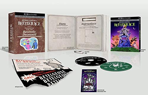 Michael Keaton is BeetleJuice Presents: Handbook For The Recently Deceased - CINE Limited Edition Collector's Set