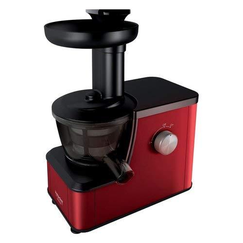 Estrattore di Succo Frutta 400 Watt Colore Rosso Slow Juicer easy
