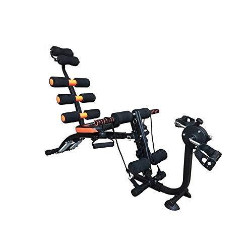 XND 腹筋台 アブクラッシャー 腹部のクランチ ベンチ フラットインクラインベンチ 腹筋 太もも 腕部 ダイエット器具 腹筋マシン 家庭用フィットネス機器 S-003