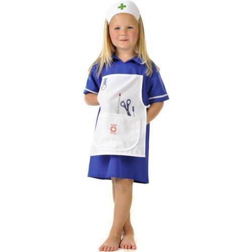 Filles Enfants Enfants Déguisements Costume Infirmière 5-7 ans [Jouet]