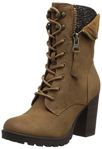 Call it Spring Women's Yunia Boot, Cognac, 8 B US