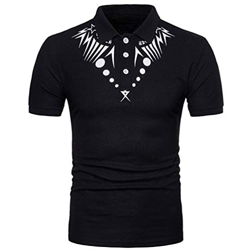 Willlly Heren Polo Shirts Zomer Lapel Casual Chic Korte mouw Polo Shirt Afrikaanse Print Spier Korte mouw Tops Shirt Basic