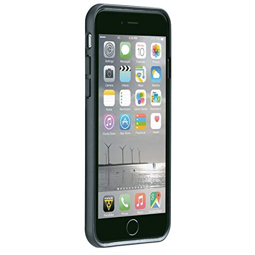 TOPEAK Handyhülle RideCase Kompatibel mit Apple iPhone 6/6S/7, Schwarz, 15800274