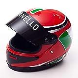 MJ Monaco - Collectors Mini Casco de carreras de fórmula de...