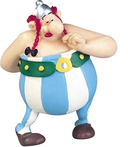 Plastoy SAS PLA60546 - Sammelfiguren, Asterix, Figur Obelix mit Blumenstrauß