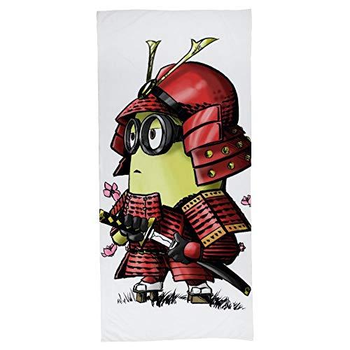 hoist Samurai Minion - Toalla rectangular para tomar el sol (algodón, 70 x 140 cm)