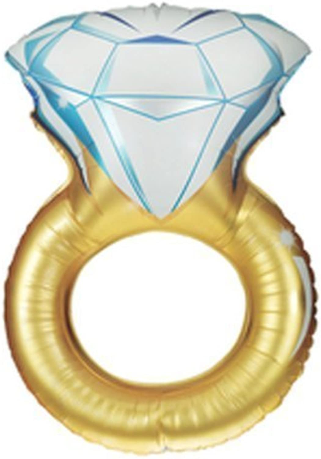 Single Source Party Supplies  37 Wedding Ring Shape Mylar Foil Balloon by Single Source Party Supplies