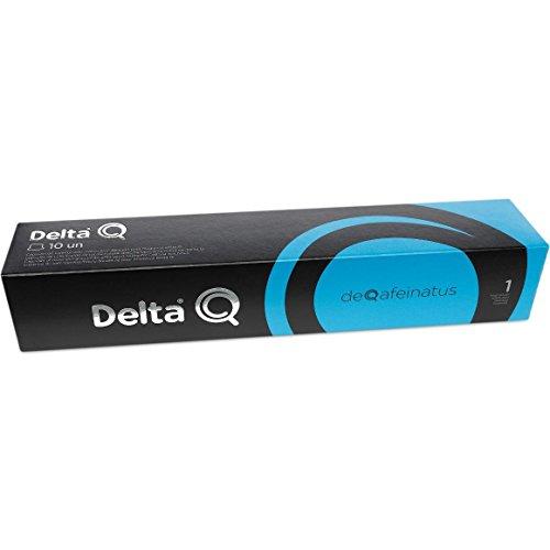 Delta Q01 Cápsulas de café Deqafeinatus 10 Cápsulas