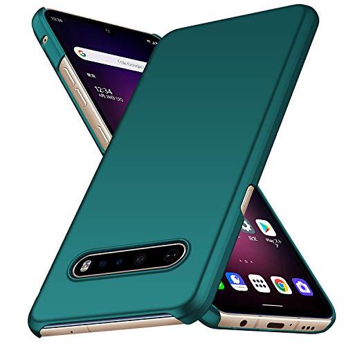 Avalri für LG V60 ThinQ 5G Hülle, Superdünne Handyhülle Hardcase aus PC Stoß- & Kratzfest Kompatibel mit LG V60 ThinQ 5G (Grün)