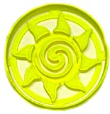 SUN FROM MOANA SUN SHINE SUNSHINE FICTIONAL ANIMATED MOVIE SCREEN SPECIAL OCCASION COOKIE CUTTER BAKING TOOL 3D PRINTED MADE IN USA PR2660