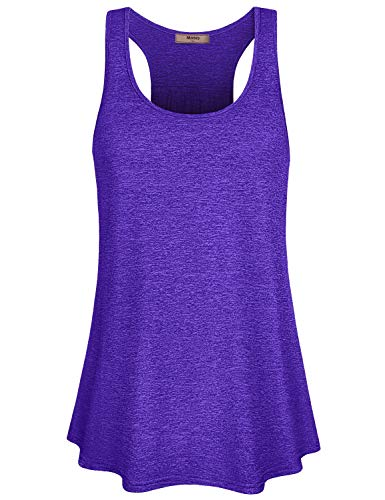 Workout Shirts for Women,Ladies Plus Size Jersey Exercise Light Weight Fast Dry Compression Tee Shirts Yoga Racerback Tunic Gym Training Volleyball Cycling Walk Cool Shirt Blue XXL