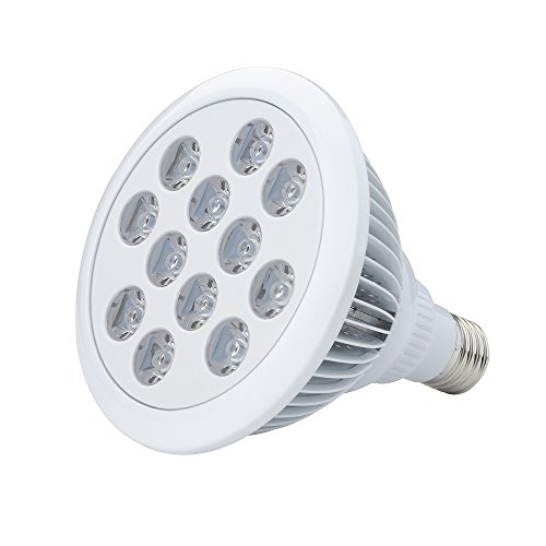 VicTsing E27 - Bombilla LED para plantas, 36 W, luces azul y rojo