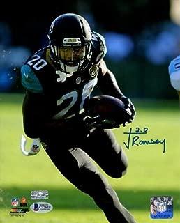 Jalen Ramsey Autographed Signed Auto Jacksonville Jaguars Black Jersey 8x10 Photograph - Certified Authentic