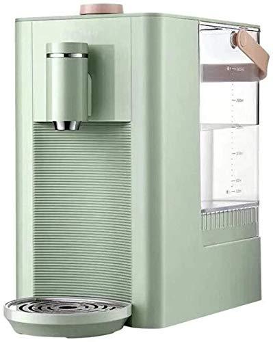 Kokendwaterkraan, Small Rapid Hot Desktop thuiskantoor Water Dispenser water, Fast Water verwarming geschikt for melk, koffie, thee (Kleur: Roze, Maat: 220V) LQH (Color : Green, Size : 220V)