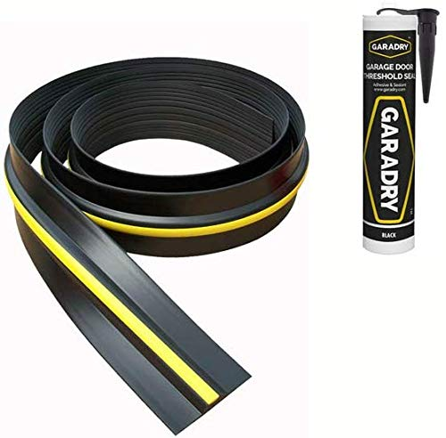 Weather Stop 15mm High Garage Door Threshold Seal Kit 6.17m (20'3