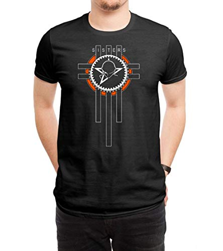 FANGYONGX Herren Funny The Sister of Mercy Logo3 T Shirt Tees Black