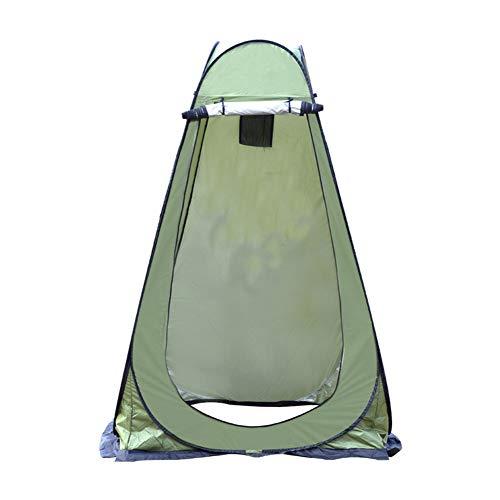 BaBa Tienda de Campaña Tent Portable Pop Up Tiendas Instantáneas Carpas Vestidor Vestuario Espacioso para Camping Playa Bosques Zonas de Aseo Carpas (Ejercito Verde)