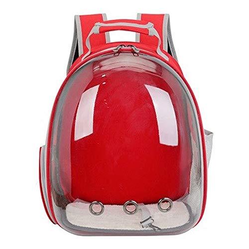 CMmin Draagbare reizen huisdier rugzak, ruimte capsule bubble ontwerp, kat waterdichte handtas rugzak en puppy