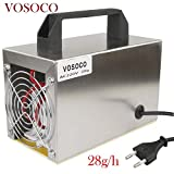 Landia Generador de ozono 28 g/h Ozonizador portátil Purificador de Agua y Aire Tratamiento de...