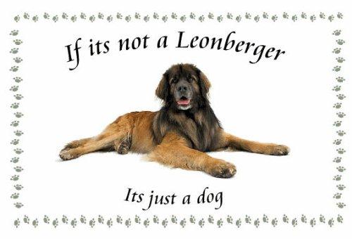 Leonberger - diseño de Llaveros de perro - Si su no